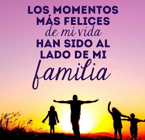 agradecimiento a mi familia