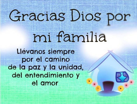Palabras De Agradecimiento A La Familia