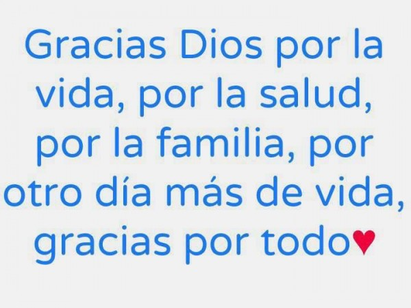palabras de agradecimiento a dios