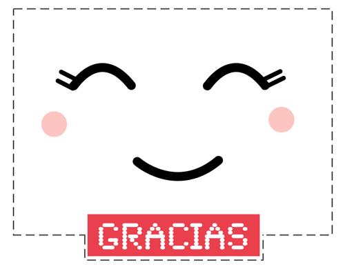 tarjeta para dar las gracias