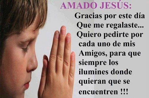 oración a los amigos
