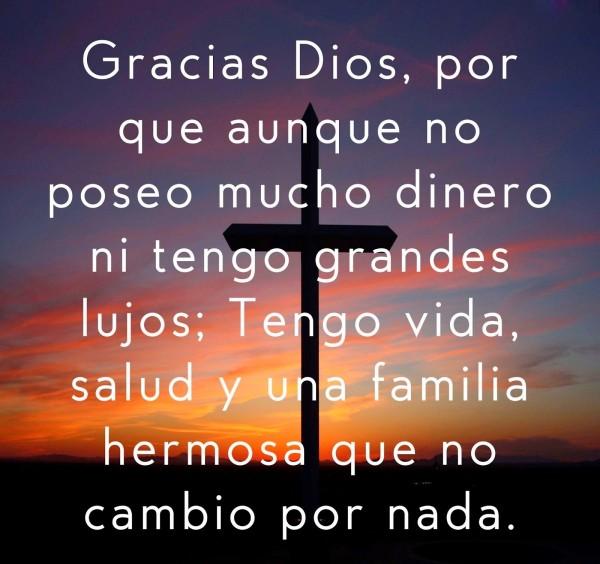 mensajes para agradecer a Dios
