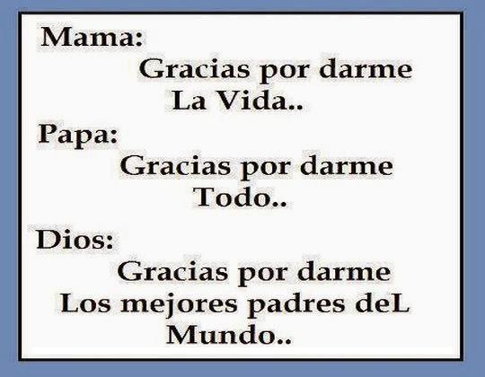 palabras de agradecimiento a los padres
