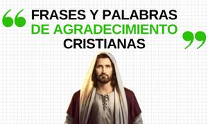 Frases de Agradecimiento Cristianas