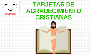Tarjetas de gratitud cristianas