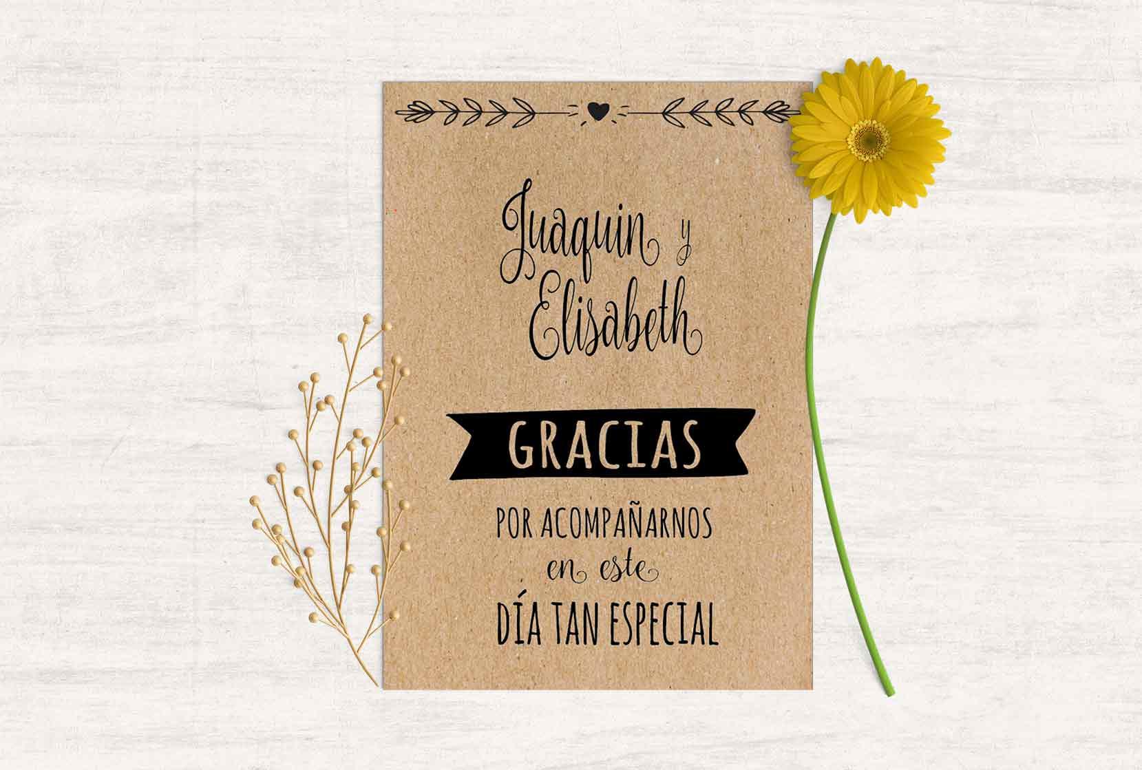 crea tarjetas de agradecimiento personalizadas de forma sencilla