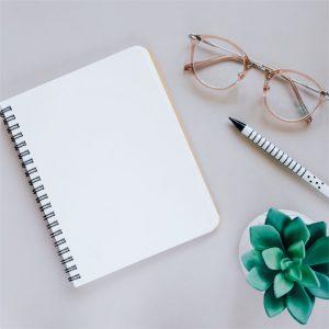 Escribiendo una nota de Agradecimientos por Oportunidad Laboral