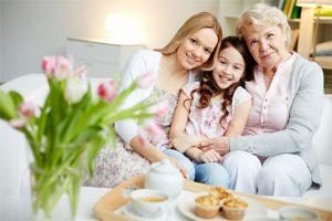 Mujeres de una familia