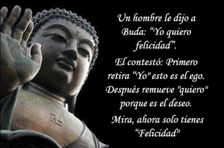 Frases budistas sobre la felicidad