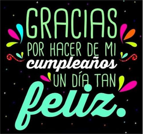 Agradecer saludos de cumpleaños en Facebook
