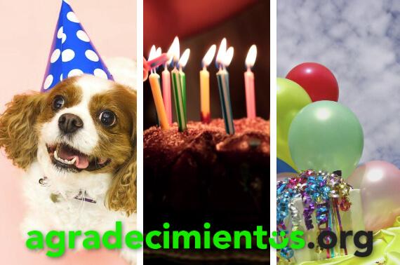 Agradecimiento de cumpleaños para amigos