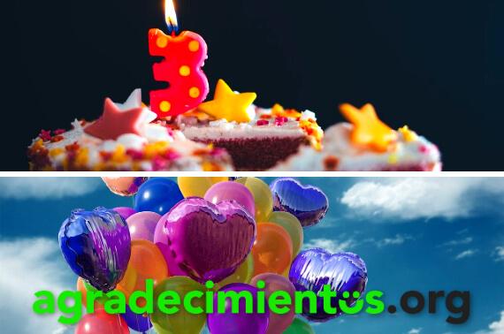 Agradecimientos de cumpleaños divertidos